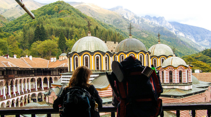 Picture taken during a tour to Rila Monastery and Boyana Church