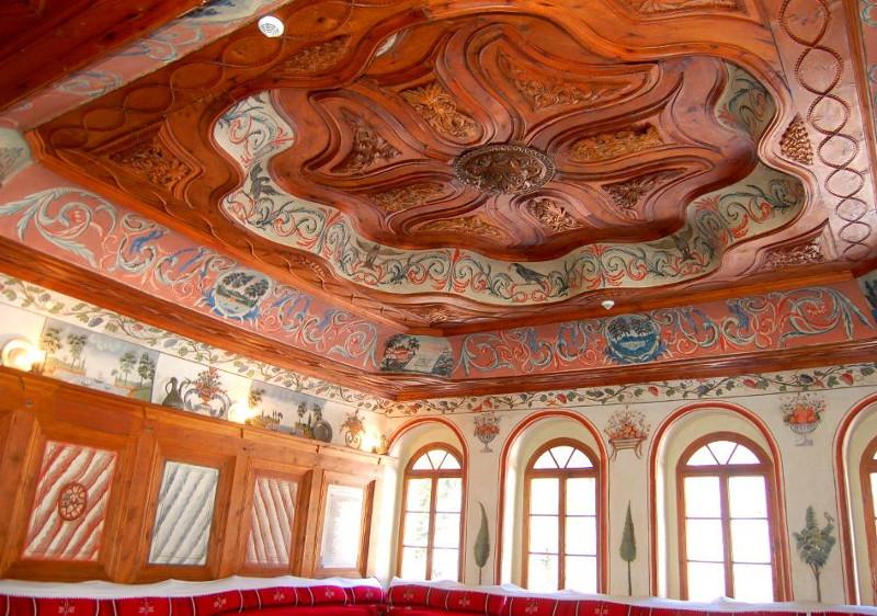Rila Monastery guest room