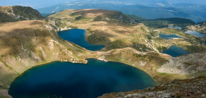 Picture of the Seven Rila Lakes