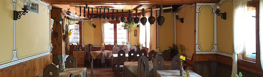 Try traditional food in Koprivshtitsa