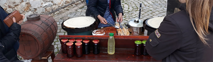 Local food Koprivshtitsa