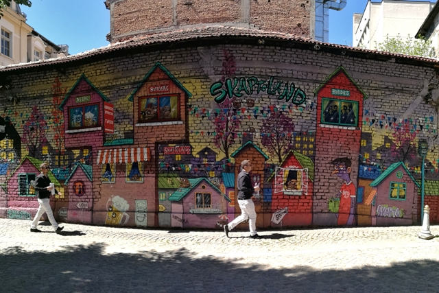 Plovdiv's Art district