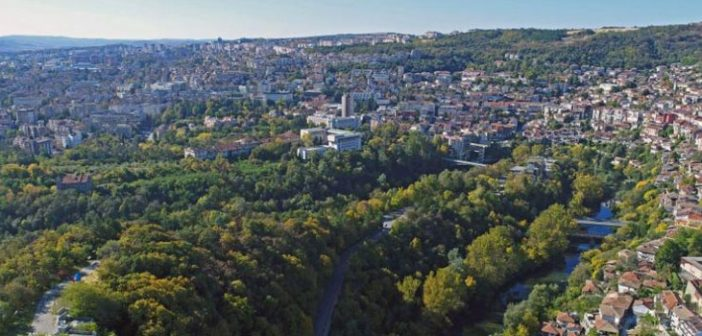 Veliko Tarnovo from above