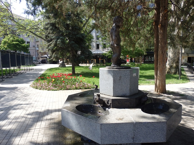 Tap water fountain in Sofia Bulgaria
